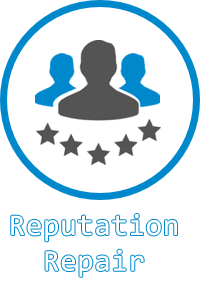 What is the history of reputation management