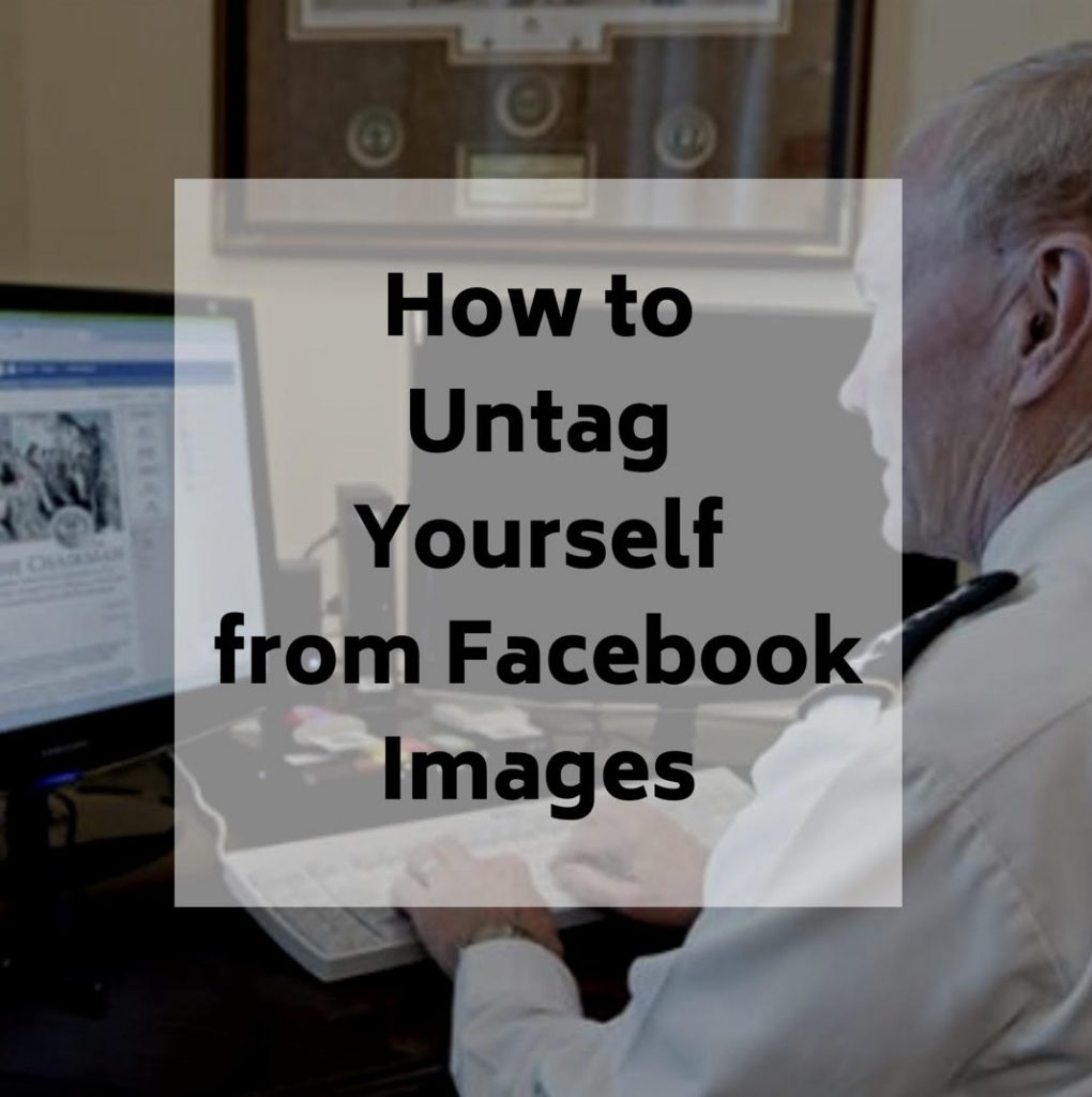 How to Untag Yourself From Facebook Images