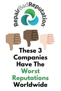 These 3 Companies have the Worst Reputations Worldwide