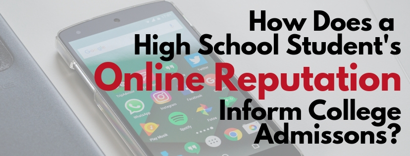 High School Student's Online Reputationreputation