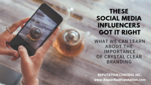 These Social Media Influencers Got It Right - The Importance of Crystal Clear Branding