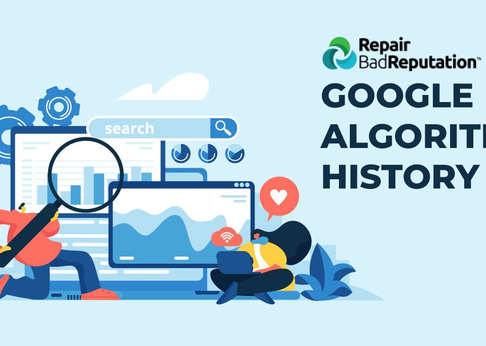 Google Algorithm Update History Header Image