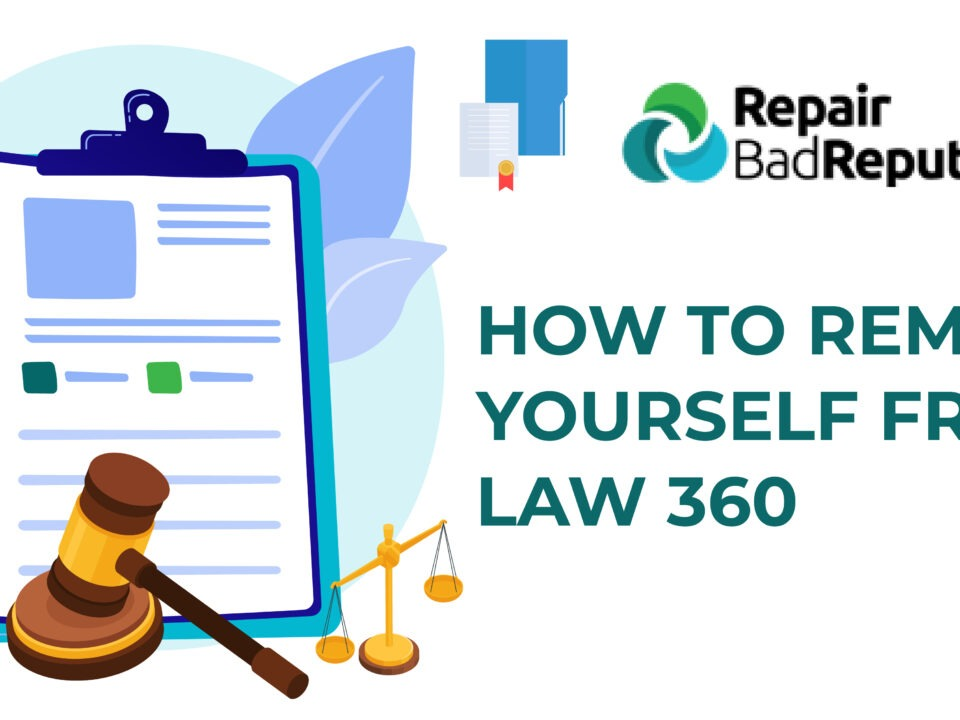 Reputation Control-How to remove yourself from law 360